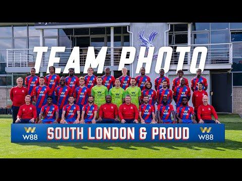 The 2021/22 Crystal Palace Team Photo
