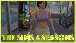 The Sims 4: Seasons // Planning the Wedding (Part 22)