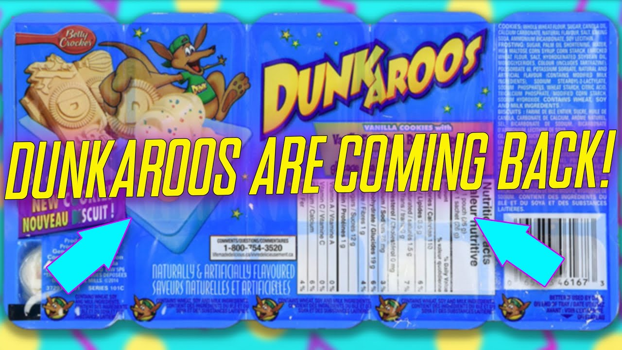They're back! Dunkaroos will finally return to stores in 2020
