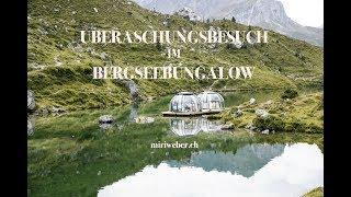 lebe deinen traum - ein besuch im bergsee bungalow ★ partnunsee prättigau ★miriweber.ch