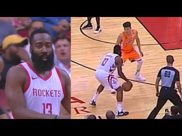 james-harden-turns-an-nba-game-into-practice-and-humiliates-every-player-rockets-vs-shanghai-sharks