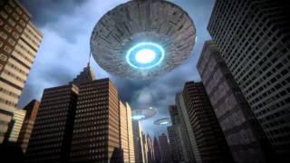 UFO over New York City
