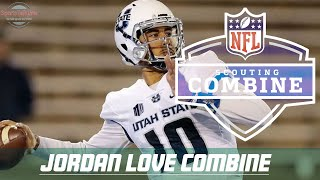 Jordan Love Combine Highlights