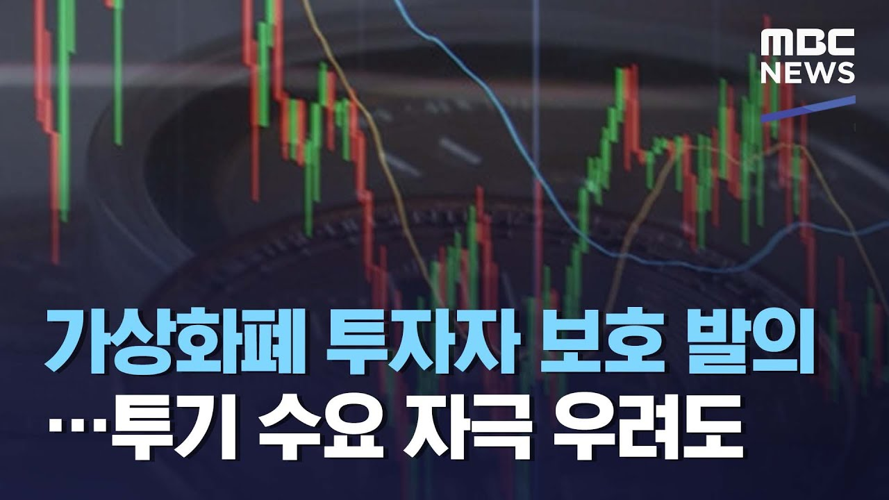 가상화폐 투자자 보호 발의…투기 수요 자극 우려도 (2021.05.07/뉴스데스크/MBC)