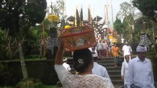 Besakih temple (piodalan ida bhatara turun kabeh)