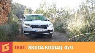 Škoda Kodiaq 1,4 TSI 4x4 - SUV TEST - GARÁŽ.TV