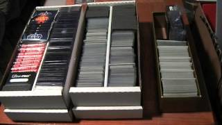 Product Review - BCW Shoe Card Storage Box, Trading Card Dividers, Monster Pads