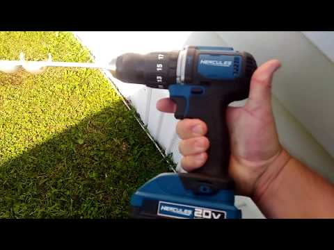 Does It Work? Hercules Hammer Drill Harbor Freight