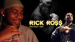 Rick Ross - Gold Roses (Audio) ft. Drake 🔥 REACTION