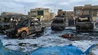 قتلى وجرحى في انفجار سيارة مفخخة في العاصمة بغداد