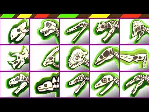 Dino Dig Dag Archaeology: Dinosaur Bones Puzzle ( 15 Skeletons ) | DCTE VN