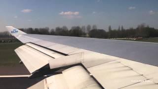KLM Take off Amsterdam - New York JFK (John F. Kennedy) KL 641 747-400 PH-BFB
