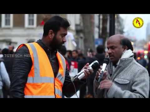 2018-02-04 - MASS PROTEST IN THE UK, AGAINST SRI LANKA'S 70th INDEPENDENCE DAY