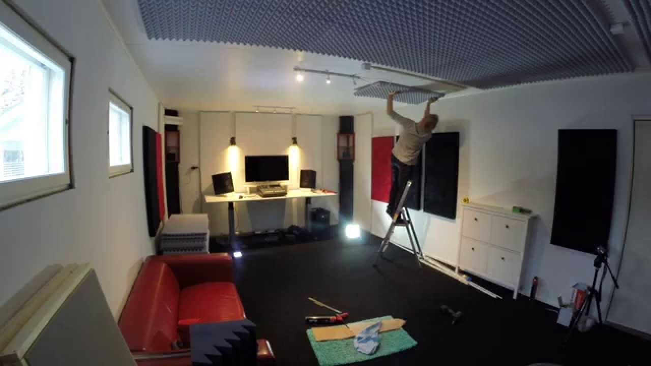 How to build a home recording studio in 10 days  YouTube