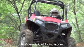 Polaris RZR S800 All Terrain Vehicle Off-Roading Test & Review By Car Blog India