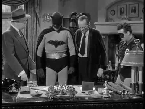 Serial 1949 Batman and Robin Chapter 14 of 15 Batman vs The Wizard