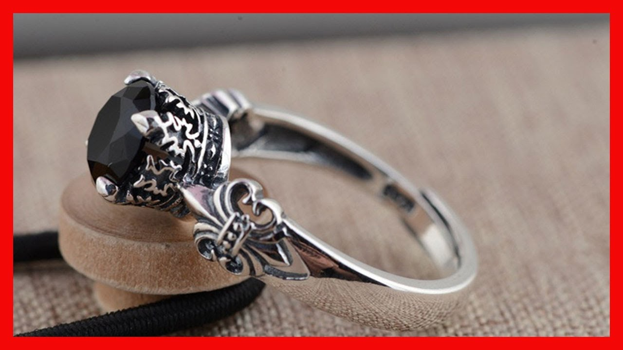 Jewelry Gift Thai Silver Rings For Women Wedding Gifts