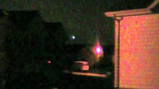 ufo spotted in  St. Charles County, Missouri 10/31/10