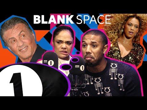 """Momager?! – just Kardashian!"": Michael B. Jordan and Tessa Thompson play BLANK SPACE"