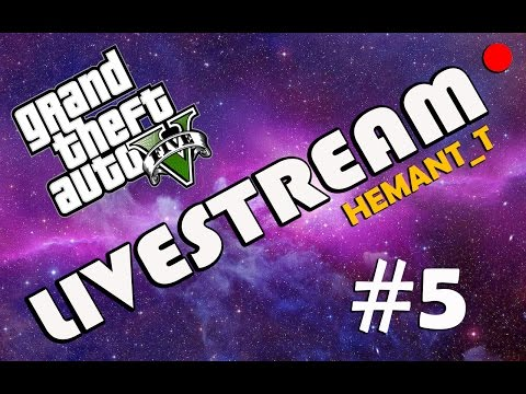 "GTA 5 Online Hindi Live ""Race Karega"" PS4 Broadcast without GGM (HT_T Live #5)"
