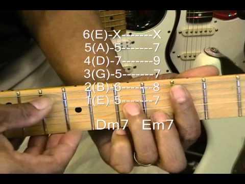 How To Play R&B Guitar Chord TABS Tutorial #108 Lesson Frank Ocean ...