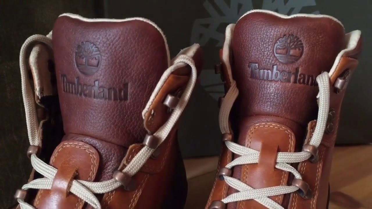 a544d1edf60 Timberland Waterproof Boots Euro Hiker Shell Toe Claypot Snow Unboxing  Winter Mens Shoes