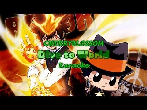 [Karaoke] CHERRYBLOSSOM - Dive to World