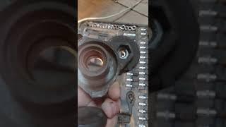 замена натяжителя ремня привода генератора NISSAN NOTE HR15