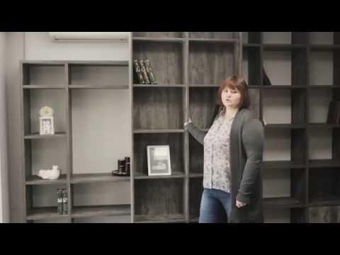 """Мебель для домашней библиотеки.  Производство мебели в Саратове.  Мебельная студия """"Квадрат"""""""