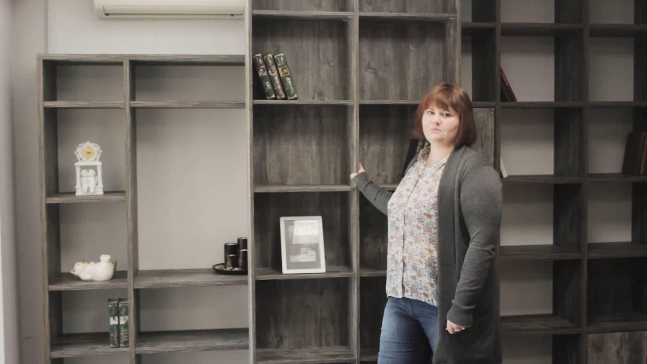 Мебель для домашней библиотеки. Производство мебели в Саратове .