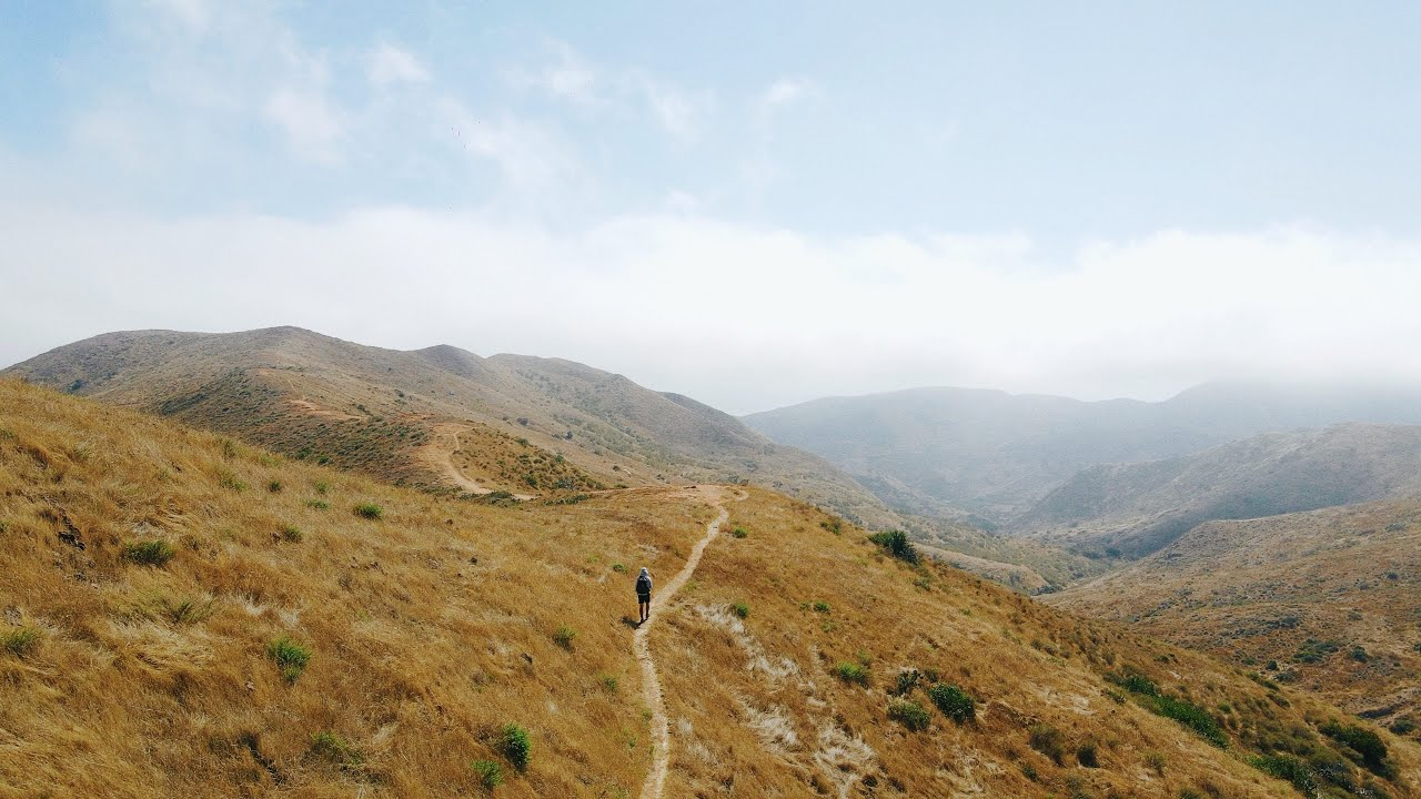 Hiking 40 Miles Alone on the Trans-Catalina Trail in California