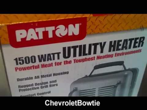hqdefault patton utility heater review youtube Patton Heater Recall at gsmx.co