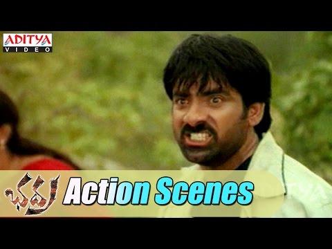Bhadra Movie Action Scenes - Ravi Teja ,Prakash Raj