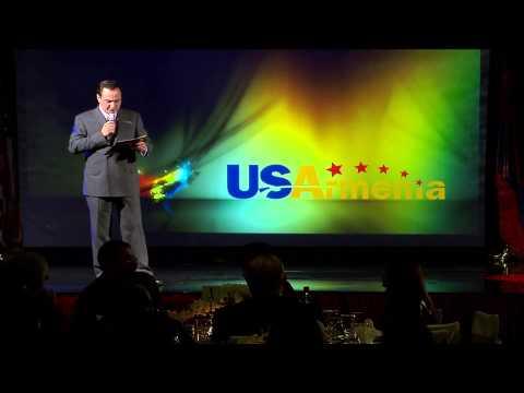 Bagrat Sargsyan USArmenia USATV Presentation Armenian