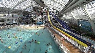SkyFlyer Ziplines at World Waterpark