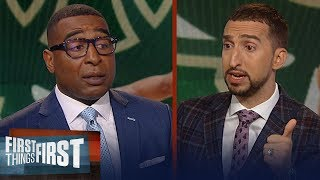 Nick Wright says the Eastern Conference will be too strong to dominate | NBA | FIRST THINGS FIRST