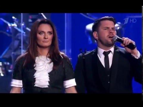 Елена Ваенга и Интарс Бусулис –