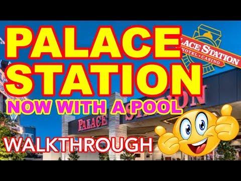 Palace Station Remodel Walk-Thru Las Vegas