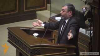 Ալեքսանդր Արզումանյանի սուր ելույթը մարտի 1-ի հանձնաժողովի ստեղծման վերաբերյալ