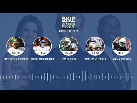 UNDISPUTED Audio Podcast (10.16.17) with Skip Bayless, Shannon Sharpe, Joy Taylor | UNDISPUTED