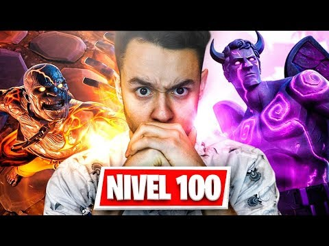 SUBIENDO AL NIVEL 100 EN FORTNITE - TheGrefg
