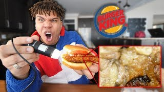 How Burger King Looks Under A Microscope!! *LOOK WHAT I FOUND*