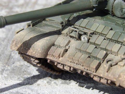 Tutorial: Heavy Weathering on a Modern Tank