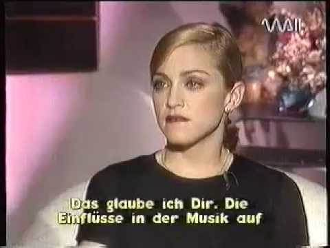 Madonna - Rare Interview with Heike Makatsch - PART 1