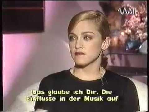Madonna  Rare  with Heike Makatsch  PART 1