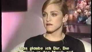 Madonna - Rare Interview with Heike Makatsch - PART 1