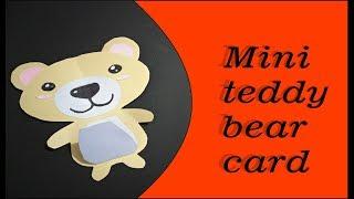 Cute and Easy Greeting card(DIY)