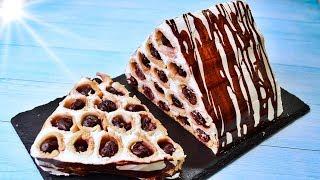 Обалденный торт с вишней