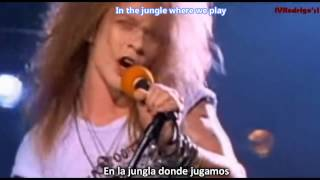 Download Guns N' Roses - Welcome To The Jungle [Lyrics y Subtitulos en Español] MP3 song and Music Video