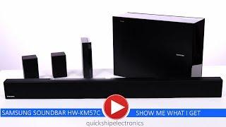 quickshipelectronics Samsung Wireless Soundbar HW-KM57C - unboxing